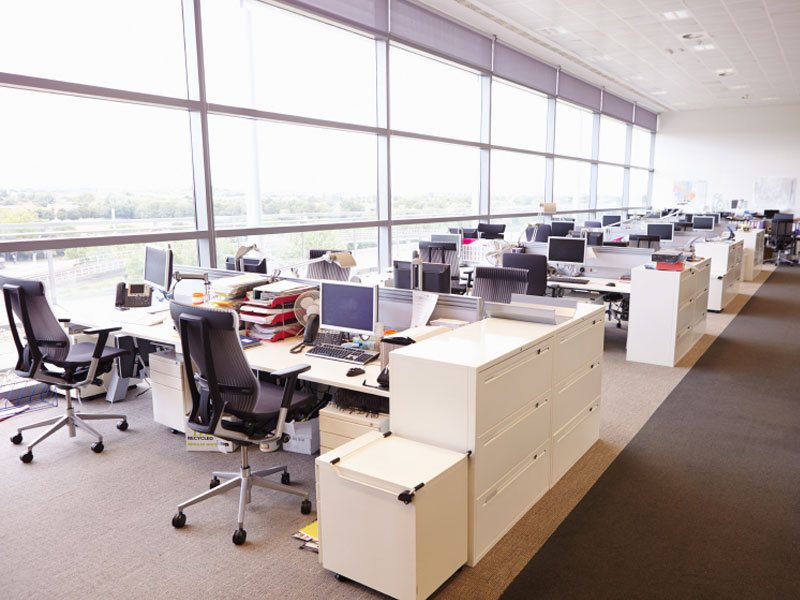We Professionally Clean all of your Business Spaces